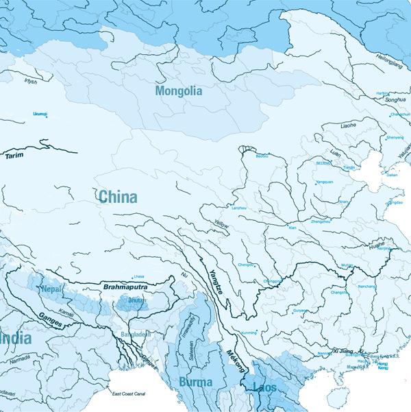 carte Asia