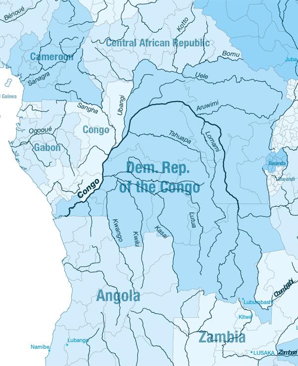 carte Africa